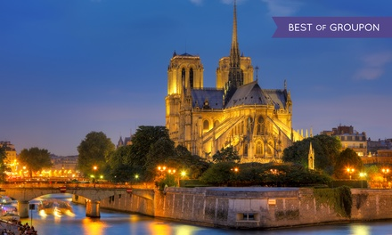 Parijs: 13 nachten, naar keuze met ontbijt, in Hotel de France Gare de Lyon Bastille voor 2 of 4 personen