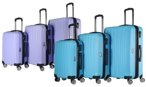 Brio Hardside Spinner Luggage Set (3-Pieces)