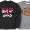Boys' Football Crewneck Sweatshirts