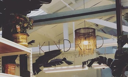 Half Head of Foils ($99) or Choice of Global Colour or Balayage ($129) at Kindred Human and Earth