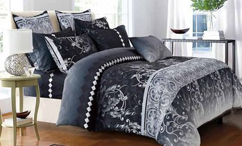 Modern-Design Quilt Cover Set