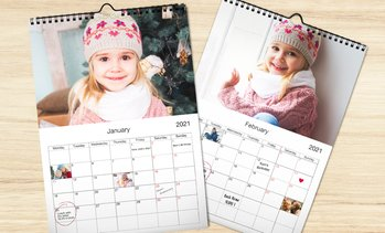 Personalised A3 Photo Calendar