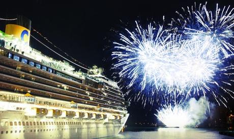 Crucero de lujo por el mediterráneo para 1 persona con pensión completa y crédito regalo de 500€ Costa Diadema