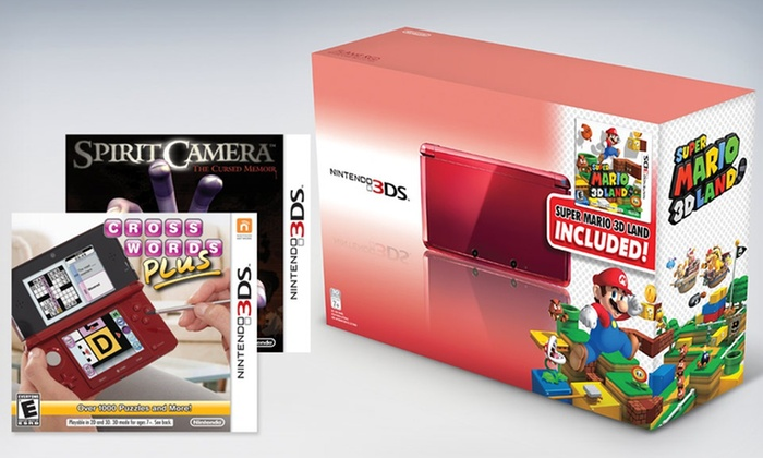 Nintendo 3DS with 3 Games: $189.99 for a Nintendo 3DS and a 3-Game Bundle ($279.96 List Price). Free Shipping and Returns.