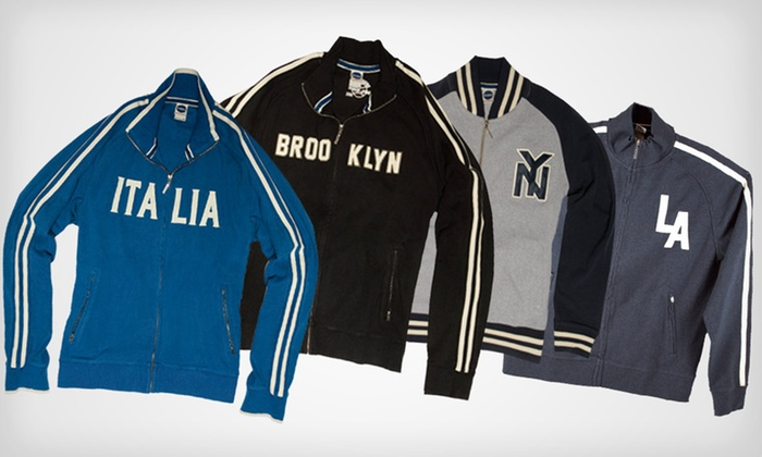 Vintage Track Jackets: $44 for a Blue Marlin Vintage Track or Fleece Jacket ($98 List Price). Multiple Styles and Sizes Available. Free Shipping.