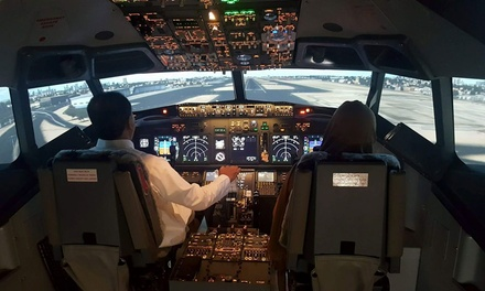 Flight Simulator or Car Racing Experience at Flight Sim Centre (Up to 31% Off)