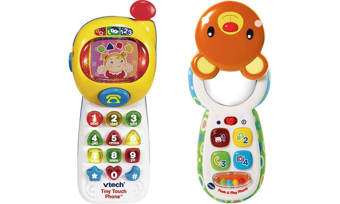 VTech Peek and Play Phone or VTech Tiny Touch Phone