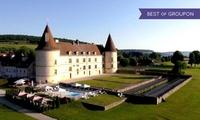 Bourgogne:1 ou 2 nuits avec petit déj, espace détente et menu gastronomique en option, au Château de Chailly 4*, pour 2