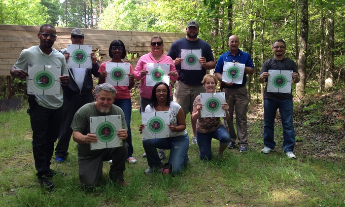 Steele Creek Outdoor Survival - Charlotte: North Carolina Concealed-Carry-Handgun Class for One or Two at Steele Creek Outdoor Survival (Up to 60% Off)