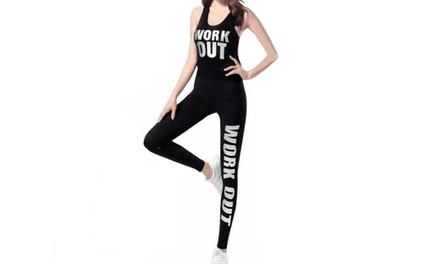 Completo fitness da donna