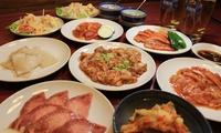 昭和レトロな空間で、美味しいお肉をたっぷりいただく≪塩タン・牛カルビなど焼肉セット9品+1ドリンク≫ @焼肉正ちゃん