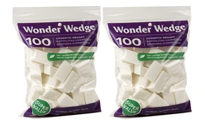 Wonder Wedge Cosmetic Wedges (100- or 200-Pack)