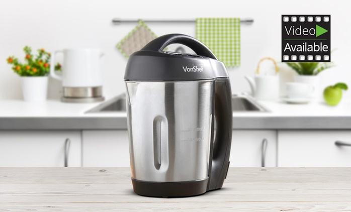 Clearance VonShef 800W 1.6l Soup Maker for £32.99