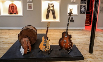 Entry to The Fab Four Exhibition for Two or Three at Magical History Museum