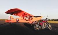 Un baptême de l'air avec un pilote de chasse à bord dun ULM 3 axes à 99 € avec Fly Vintage