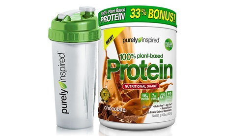 Purely Inspired Plant Protein Shake (2Lb.) and Shaker Cup c23f25b6-a17c-4326-b061-57e929f215b5