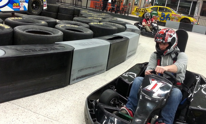Extreme Grand Prix Indoor Family Fun Center - Raytown: Indoor Go-Karting for One, Two, or Four at Extreme Grand Prix Indoor Family Fun Center (Up to 52% Off)