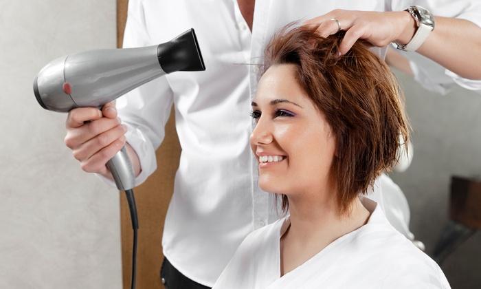 Meridian Family Hair Salon - Northeast Meridian: $43 for Haircut and Color/Highlights ($85.00 Value) — Meridian Family Hair Salon