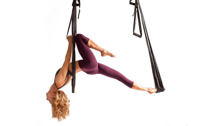 Tough Lotus, LLC. - Tough Lotus: Intro Class and Three or Seven Aerial-Fitness Classes at Tough Lotus (Up to 51% Off)