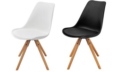 Packs de 2 o 4 sillas de comedor de estilo escandinavo