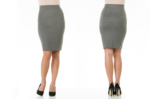 Sociology Knee-Length Pencil Skirt (Size XL) | Groupon