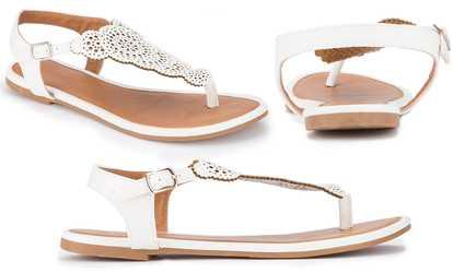 066746aa03d Shop Groupon Olivia Miller Laser Cut Women s Sandals