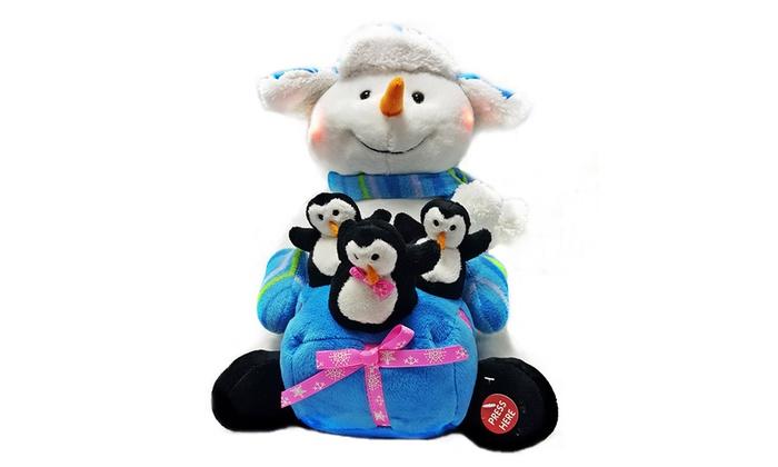 animated plush christmas toys animated plush christmas toys - Singing Christmas Toys