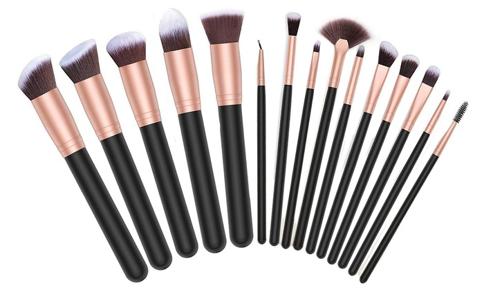 Up To 76% Off on Makeup Brush Set (16