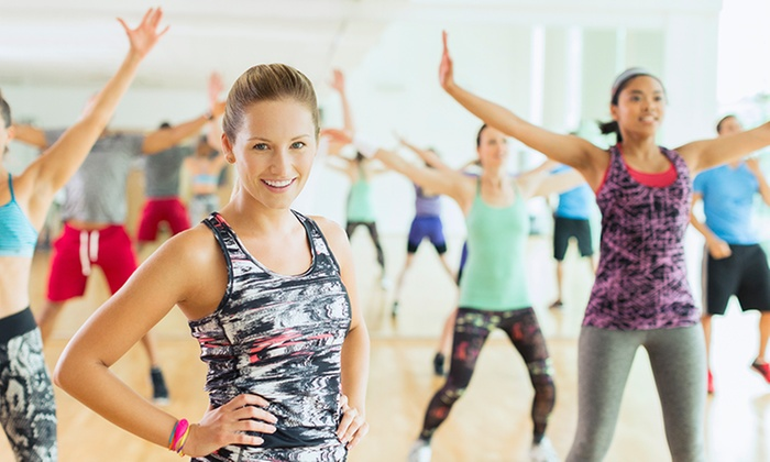 I am Zumba fit - Multiple Locations: Five or Ten Zumba Classes at I am Zumba Fit (Up to 55% Off)