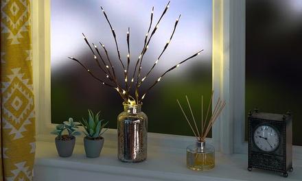 Luci LED disposte su rami con 20 o 40 led