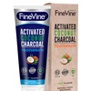 FineVine All Natural Charcoal Teeth Whitening Toothpaste (5.1 Oz.)