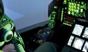 Simulateur d'avion de chasse: Vol à bord d'un simulateur avion de chasse F35 au choix entre 2, 4 ou 6 sessions ou pack dès 69 €