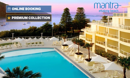 Central Coast: One or TwoNight Beachfront Resort Getaway for Two with Late CheckOut at Mantra Ettalong Beach