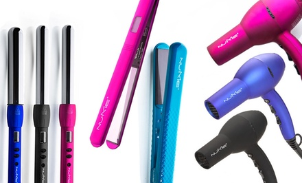 groupon daily deal - $15 for $120 Worth of Hairstyling Tools from NuMeProducts.com