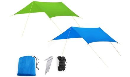 Tenda a sospensione con parasole
