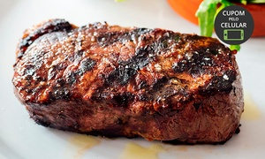 Restaurante Ninna 730: Ninna 730 – Cerqueira César: bife ancho ou filé de frango + 1 acompanhamento para 1 ou 2 (opção com taça de vinho)