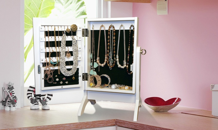 Merveilleux Jewellery Cabinet/Table Top ...