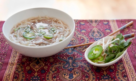 $14 for $20 Worth of Vietnamese Lunch or Dinner for Two at Oriental Pearl Restaurant