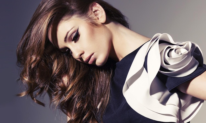 Salon Ink Hair and Beauty - La Vista: $58 for a Haircut with Color or Highlights — Salon Ink Hair and Beauty ($145 Value)