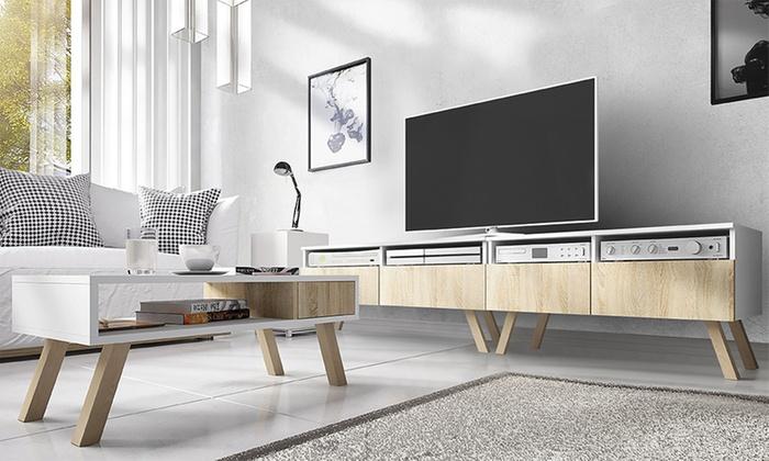 Ongekend Tot 54% op Scandinavische design tv-meubels | Groupon Producten YM-86