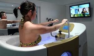 Séances d'aquabiking en cabine individuelle Eyragues