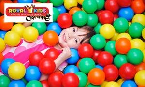 Royal Kids Craponne: 1, 2 ou 3 entrées enfants dès 5,90 € au parc Royal Kids Craponne