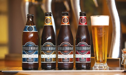 Beer Tasting and Tour with a Draught from R99 for Two at Stellenbrau Brewery (Up to 48% Off)