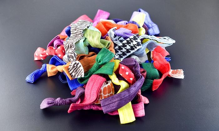 50-Pack Crease-Free Hair Ties: 50-Pack Crease-Free Hair Ties