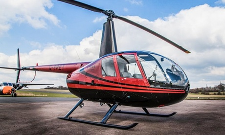 Experience: Helicopter Flying Experience For just: £89.0