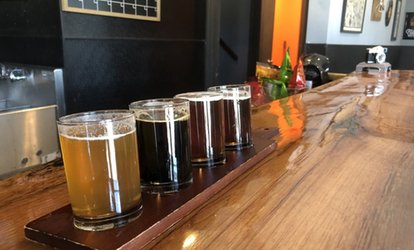 Tour and Beer <strong>Flights</strong> for Two or Four at Fatty's Beer Works (Up to 35% Off)