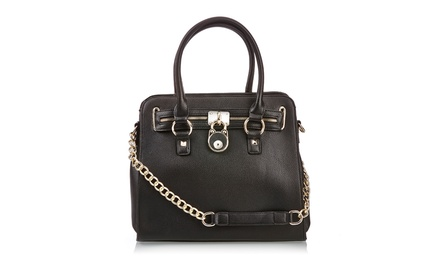 Sociology Bright Lock Chain Bag | Groupon Exclusive