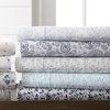 Merit Linens Floral & Paisley Printed Bed Sheet Set (4-Piece)