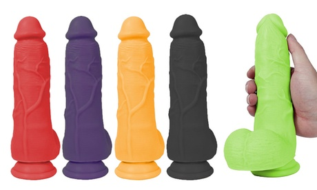 "Lickerlish 7"" Sonny Thick Silicone Dong with Suction Cup 8298765a-b06b-11e7-93f4-00259060b5da"