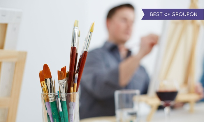 Color Cocktail Gallery - Multiple Locations: BYOB Nude Painting for First Timers Class for One or Two at Color Cocktail Gallery (59% Off)